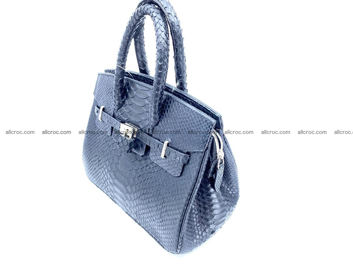 Python snakeskin handbag mini 1068 Foto 3