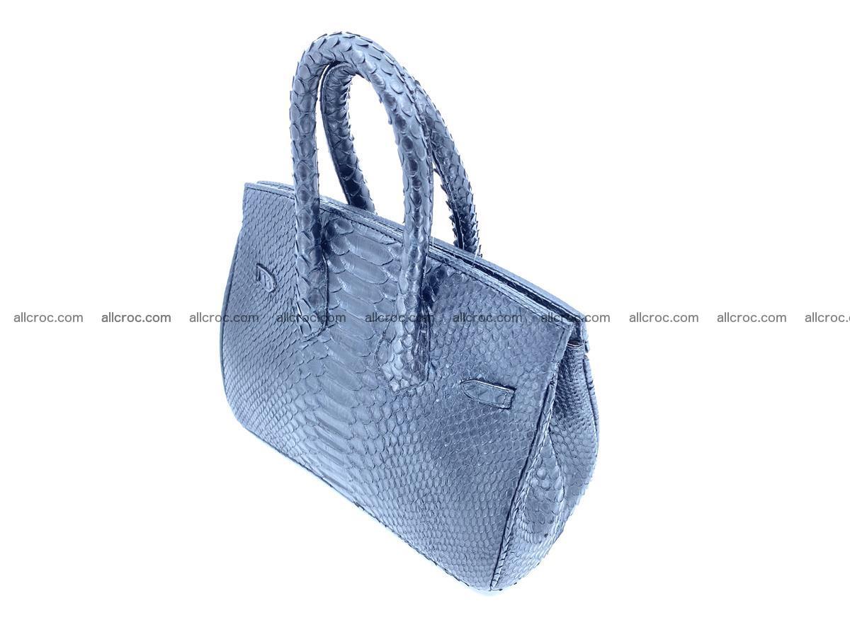 Python snakeskin handbag mini 1068 Foto 4