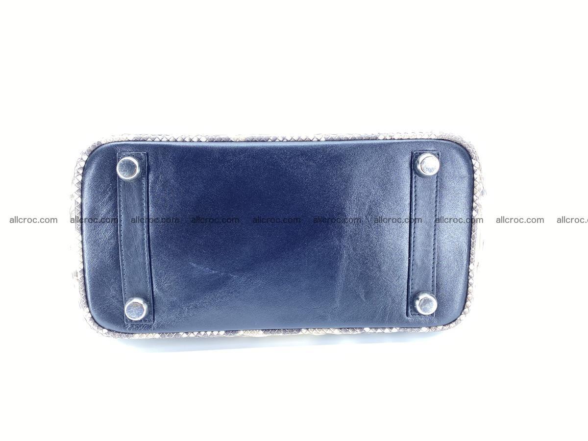 Python snakeskin handbag mini 1067 Foto 7