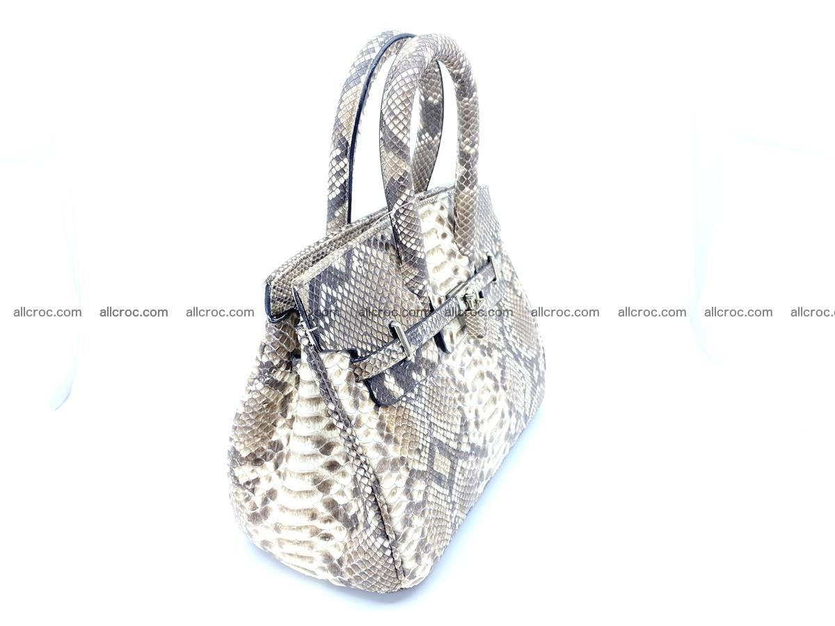 Python snakeskin handbag mini 1067 Foto 3