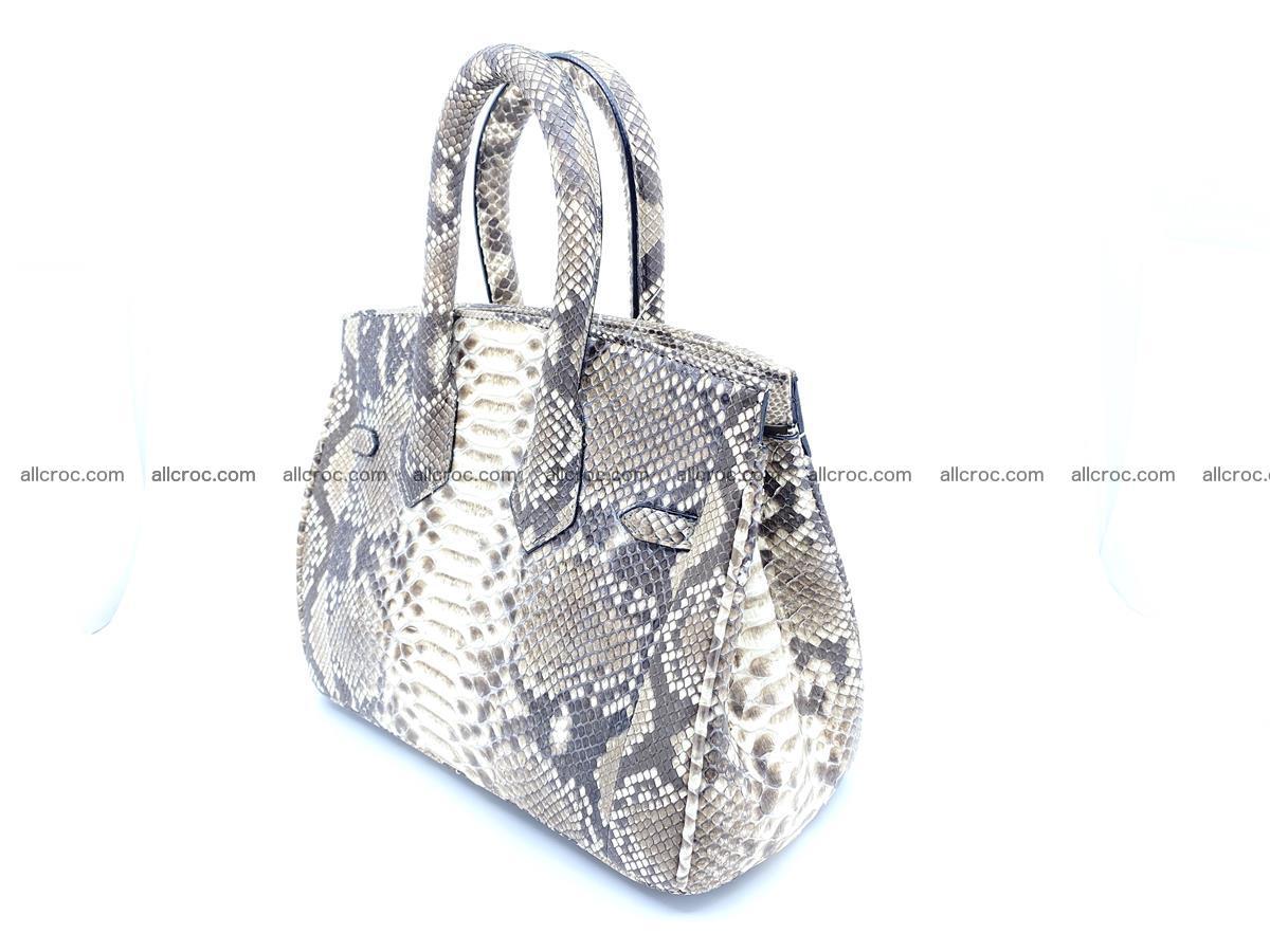 Python snakeskin handbag mini 1067 Foto 4