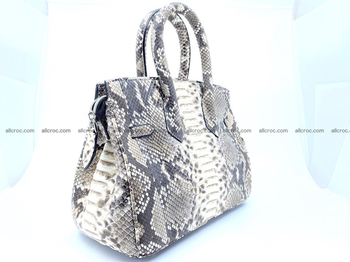 Python snakeskin handbag mini 1067 Foto 6