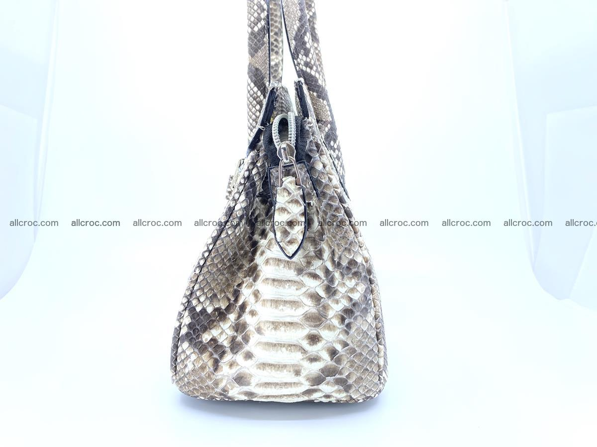 Python snakeskin handbag mini 1067 Foto 5