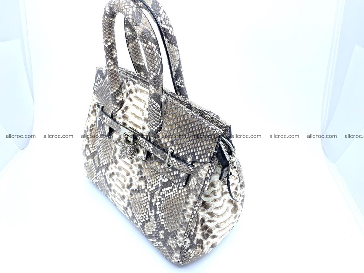 Python snakeskin handbag mini 1067 Foto 2