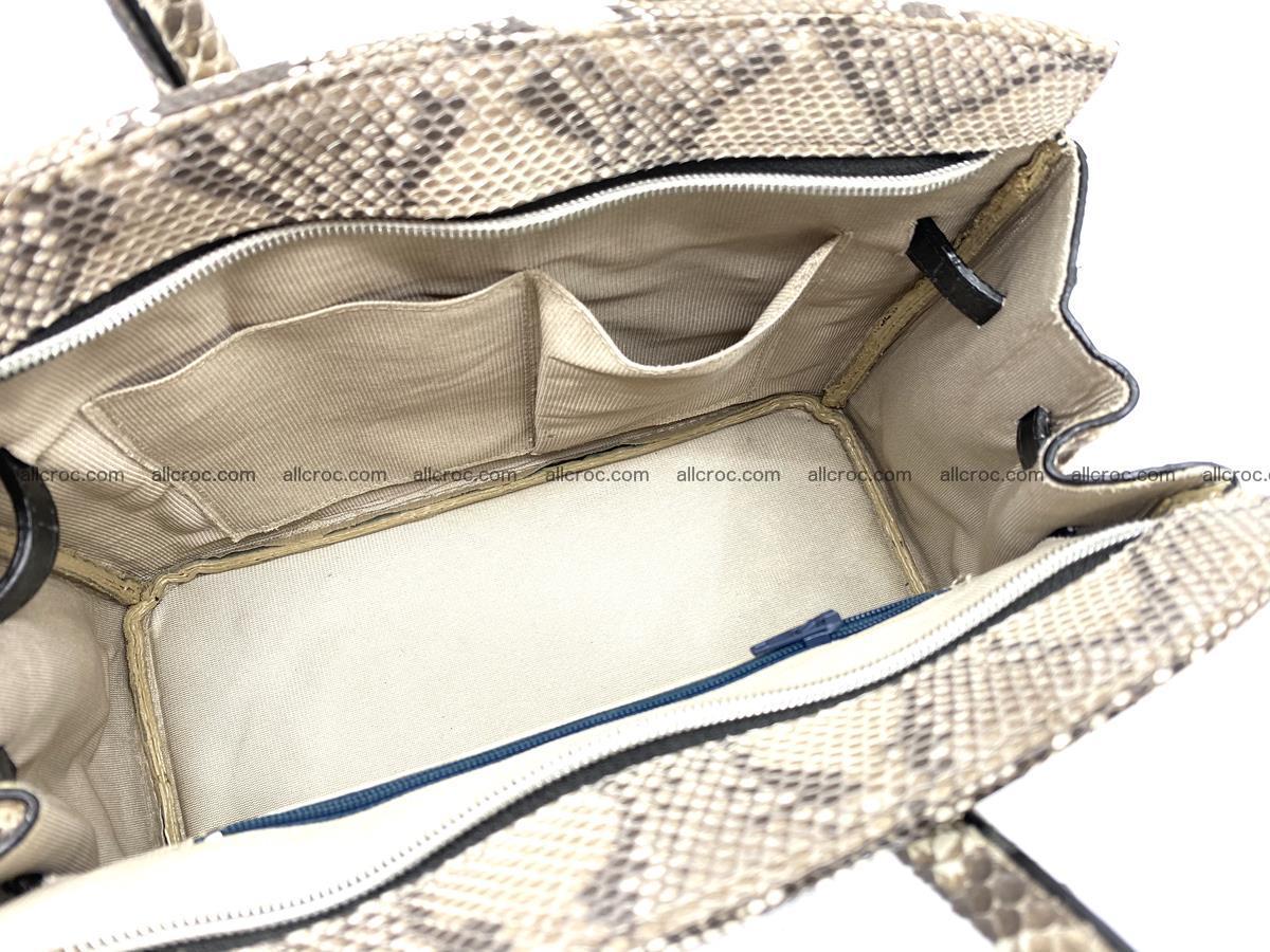 Python snakeskin handbag mini 1067 Foto 8