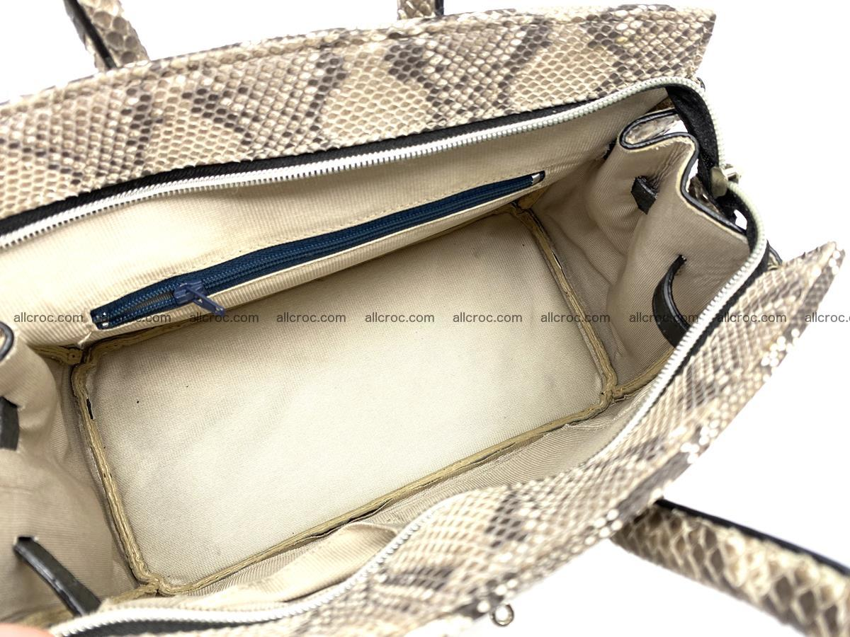 Python snakeskin handbag mini 1067 Foto 9