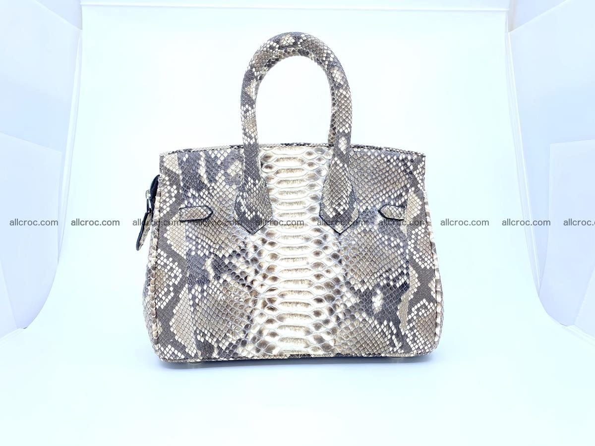Python snakeskin handbag mini 1067 Foto 1