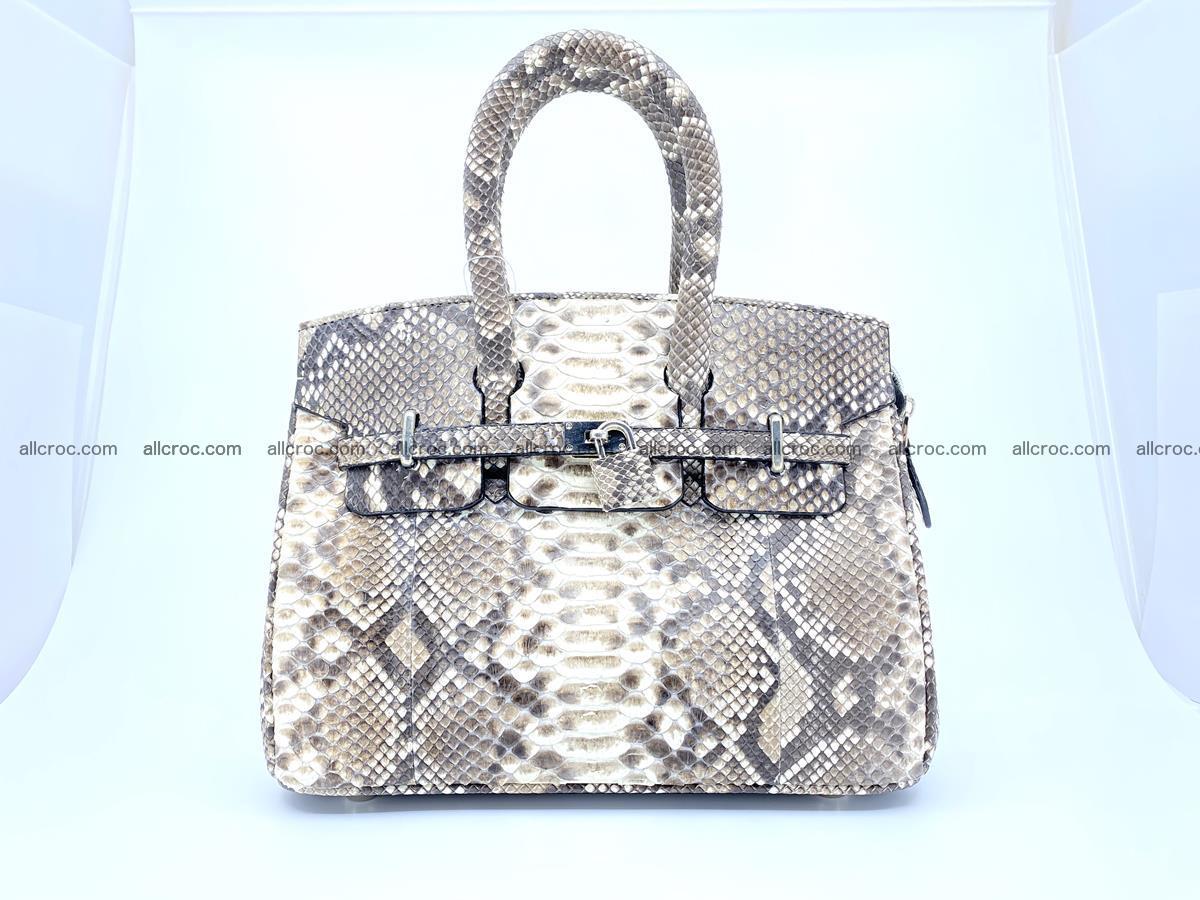 Python snakeskin handbag mini 1067 Foto 0