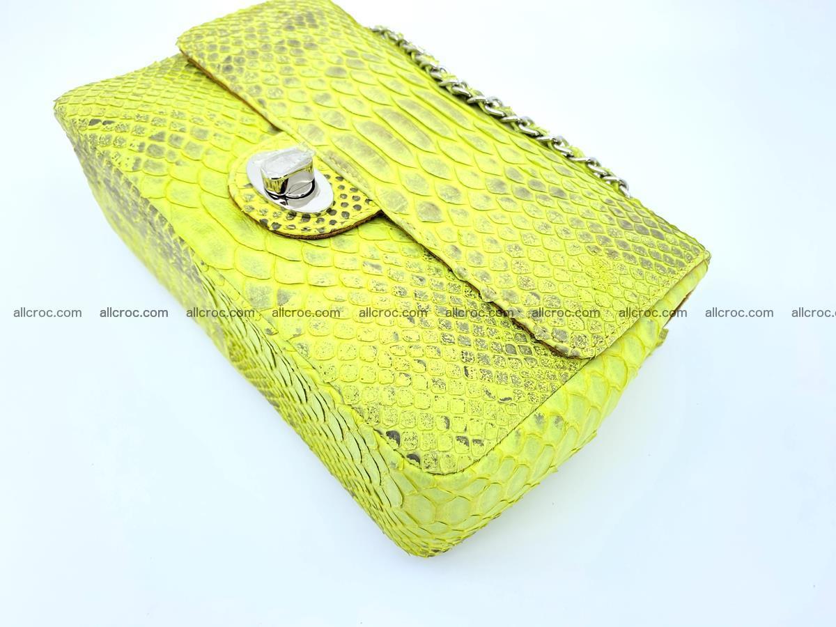 Python snakeskin shoulder bag 1074 Foto 7