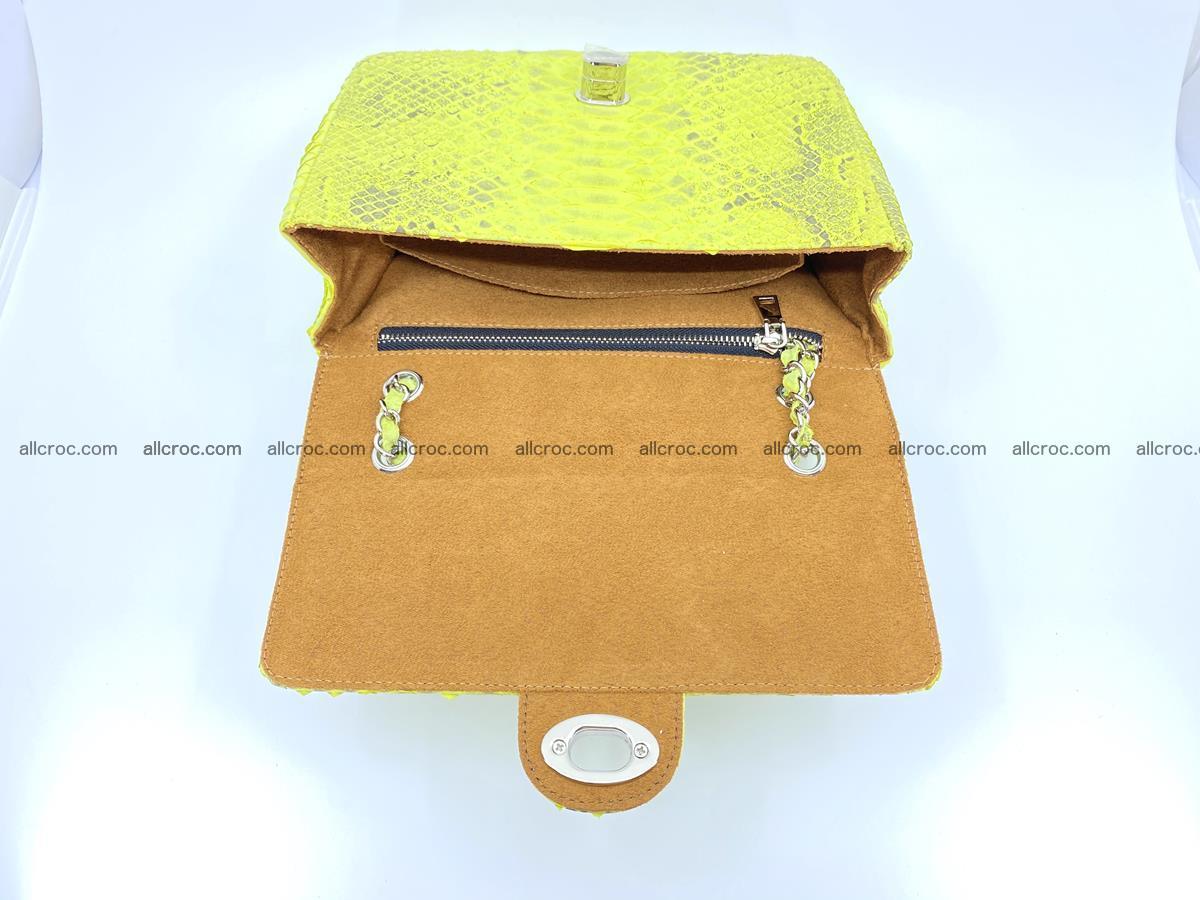 Python snakeskin shoulder bag 1074 Foto 13