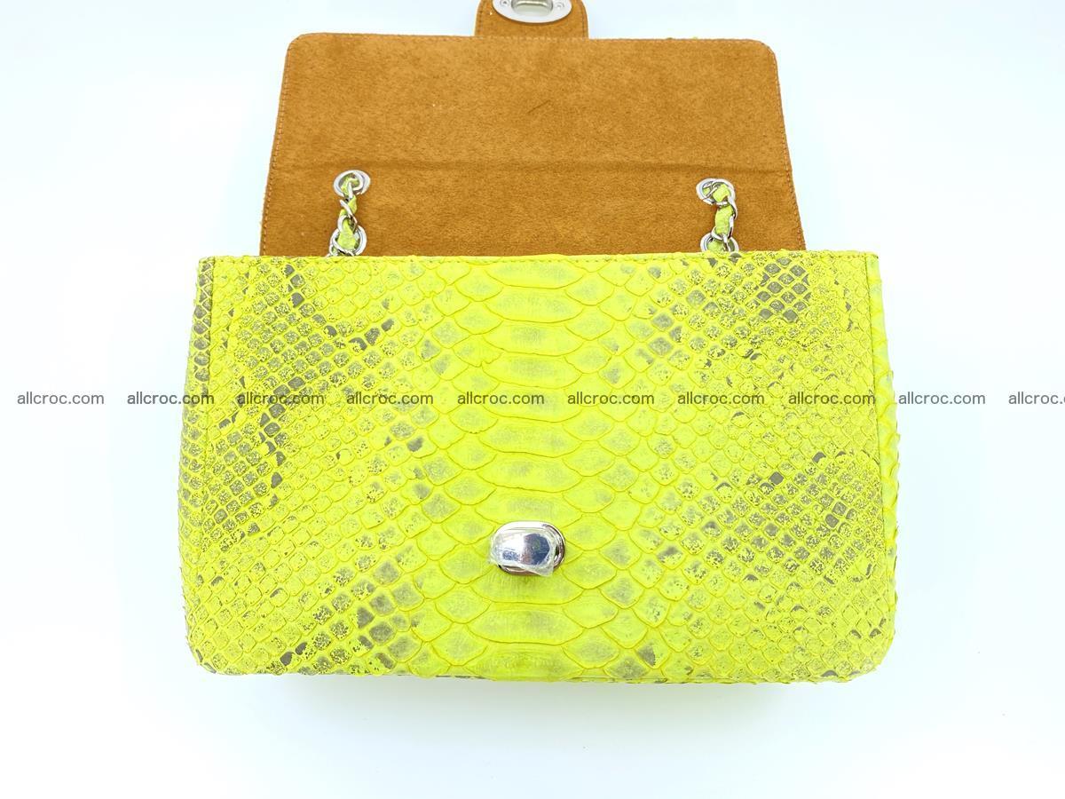 Python snakeskin shoulder bag 1074 Foto 12