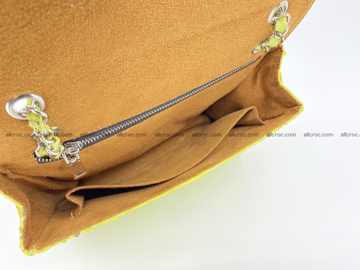 Python snakeskin shoulder bag 1074 Foto 15
