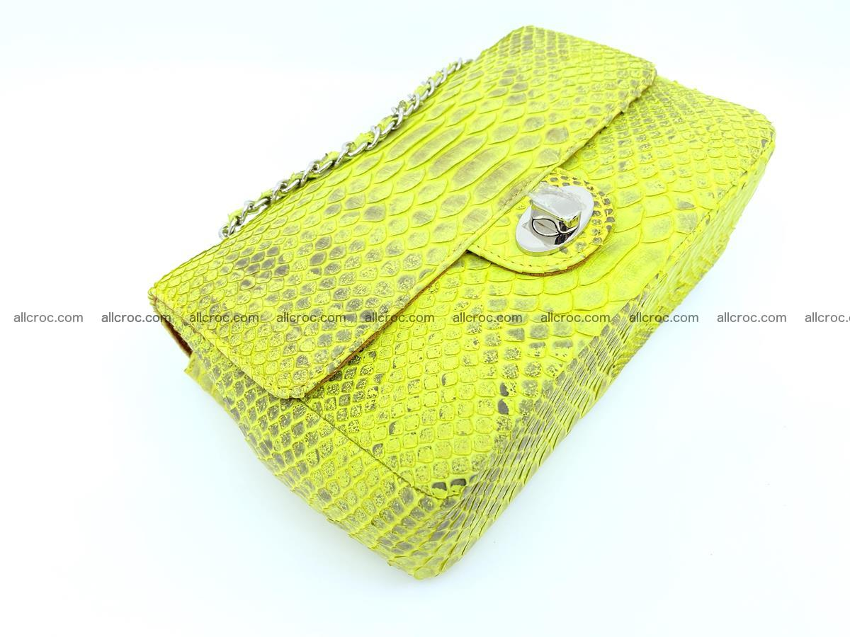 Python snakeskin shoulder bag 1074 Foto 6