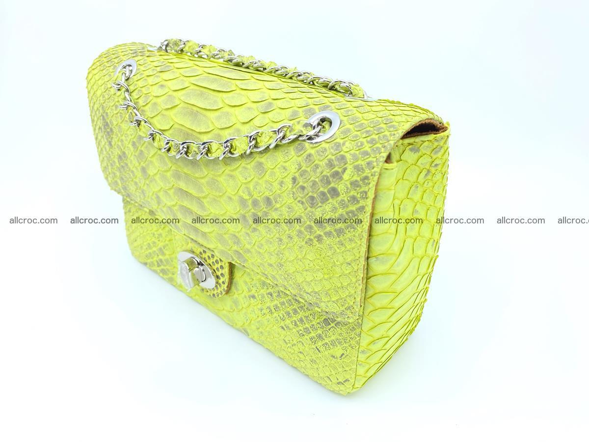 Python snakeskin shoulder bag 1074 Foto 2