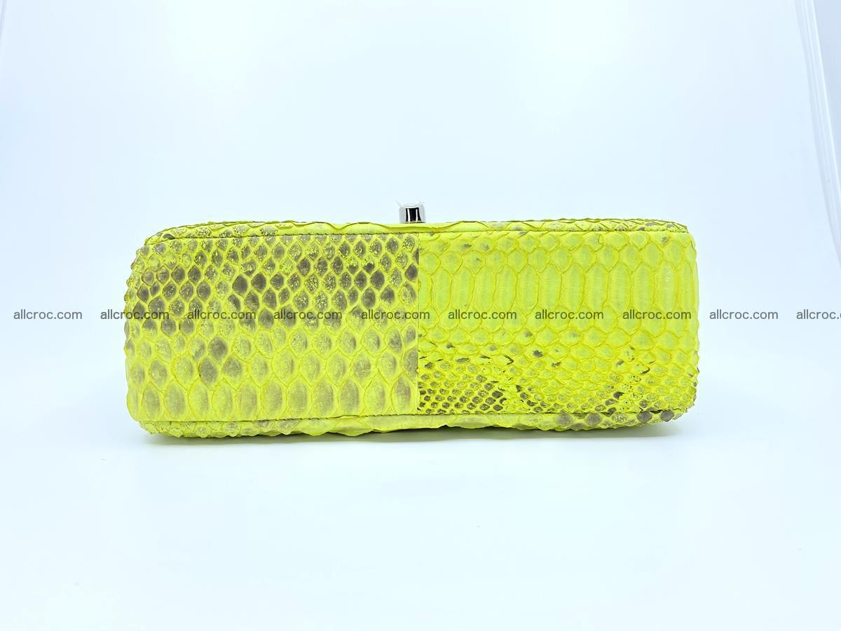 Python snakeskin shoulder bag 1074 Foto 11