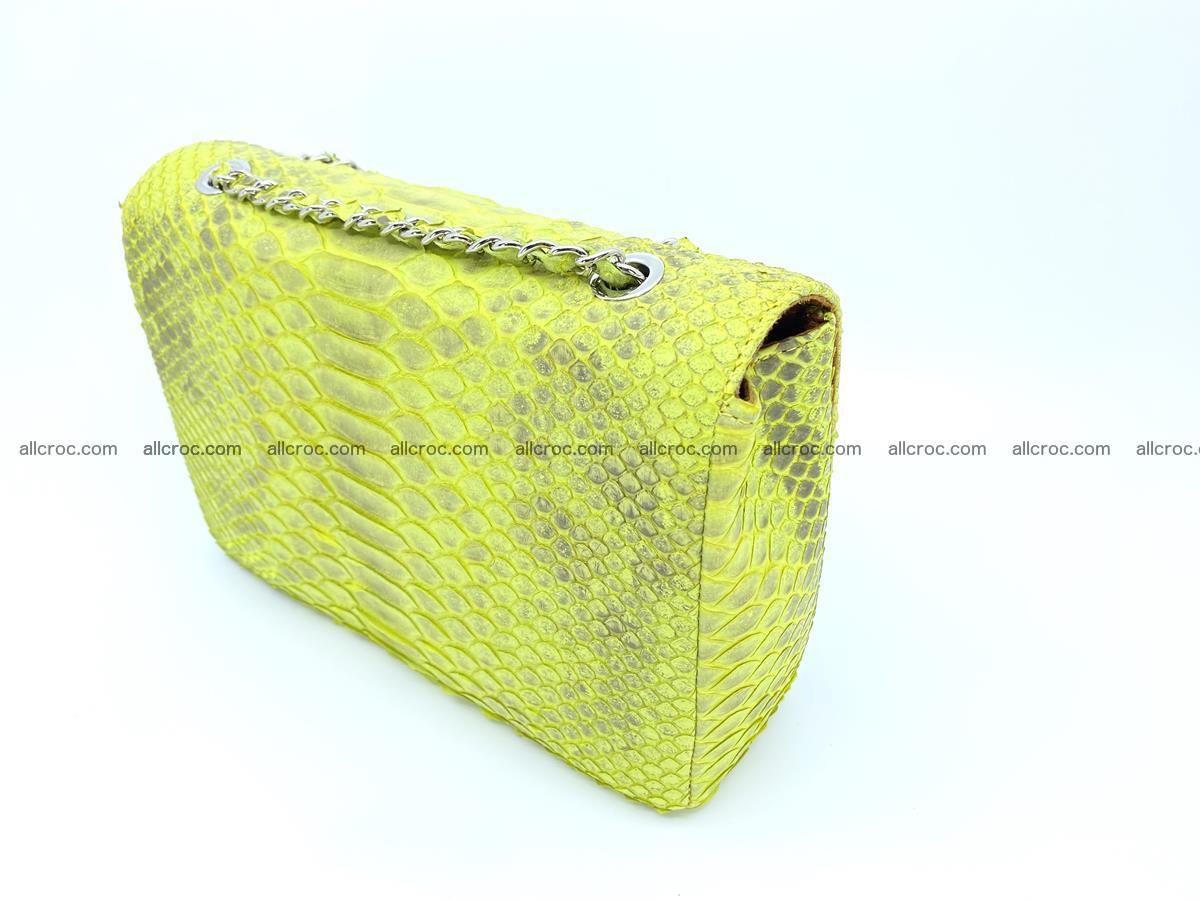 Python snakeskin shoulder bag 1074 Foto 4