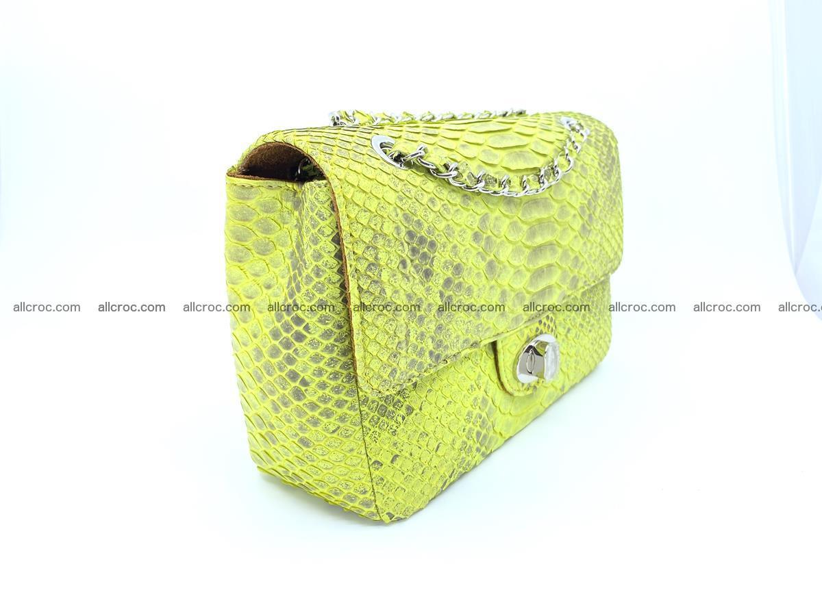 Python snakeskin shoulder bag 1074 Foto 3