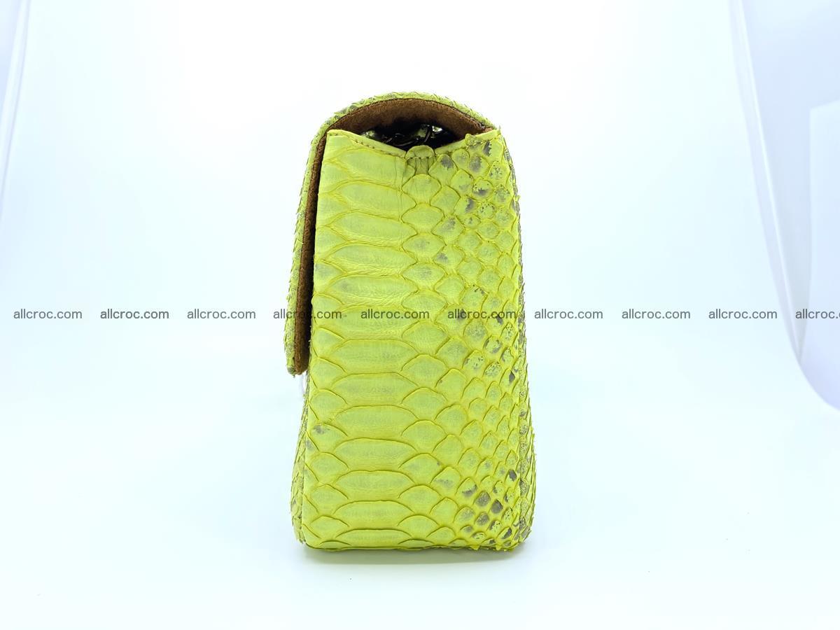 Python snakeskin shoulder bag 1074 Foto 9