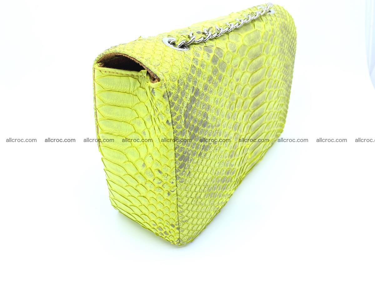 Python snakeskin shoulder bag 1074 Foto 5