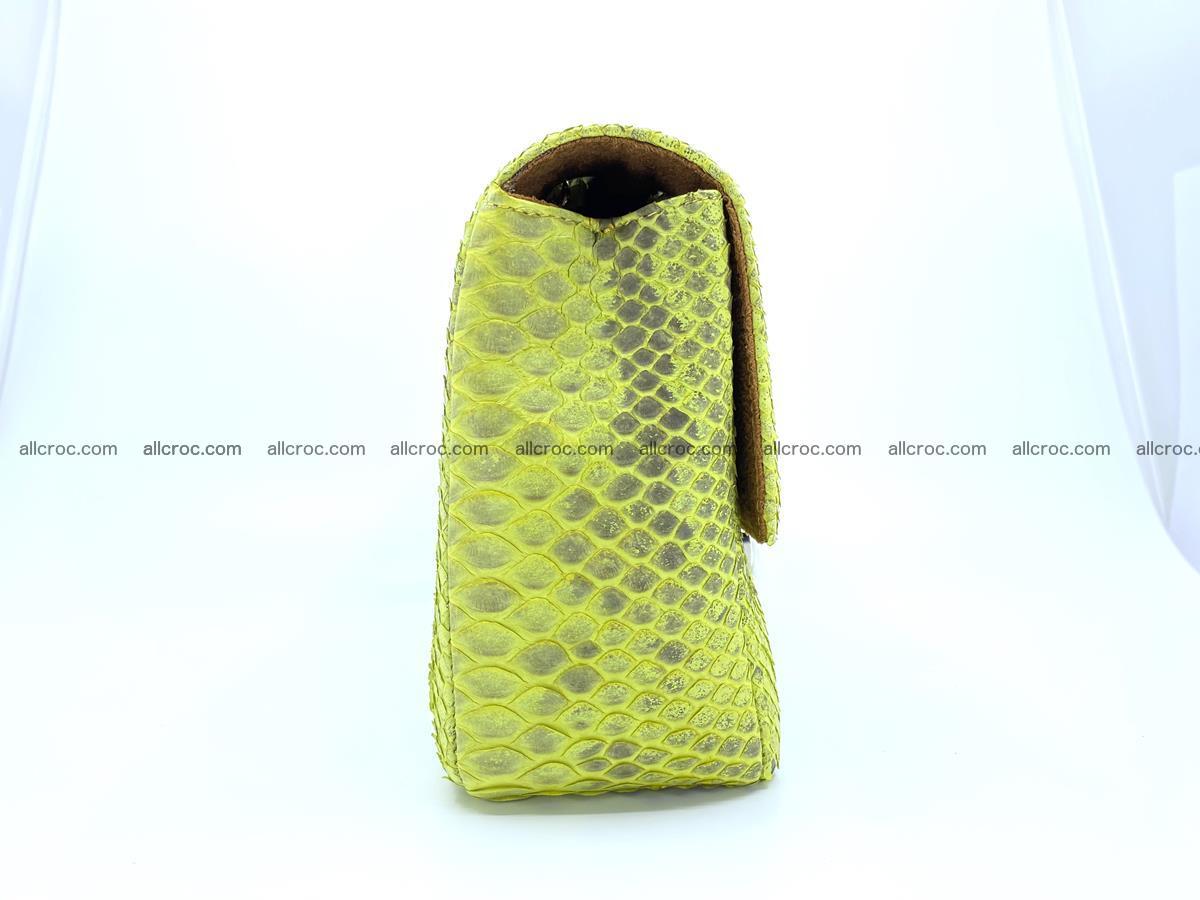 Python snakeskin shoulder bag 1074 Foto 10
