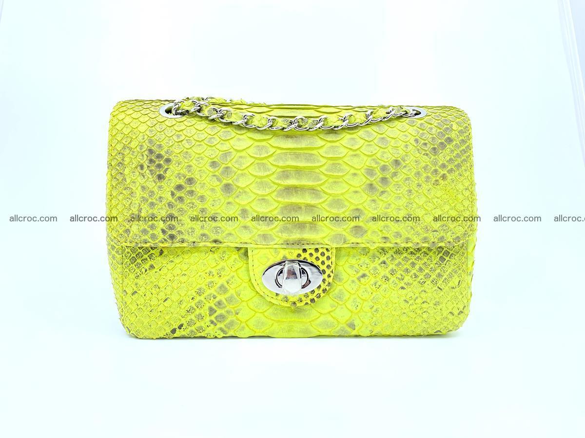 Python snakeskin shoulder bag 1074 Foto 0