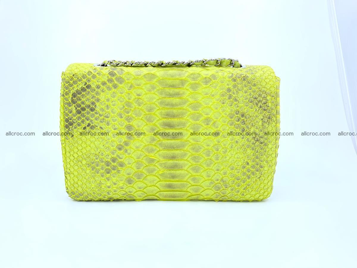 Python snakeskin shoulder bag 1074 Foto 1