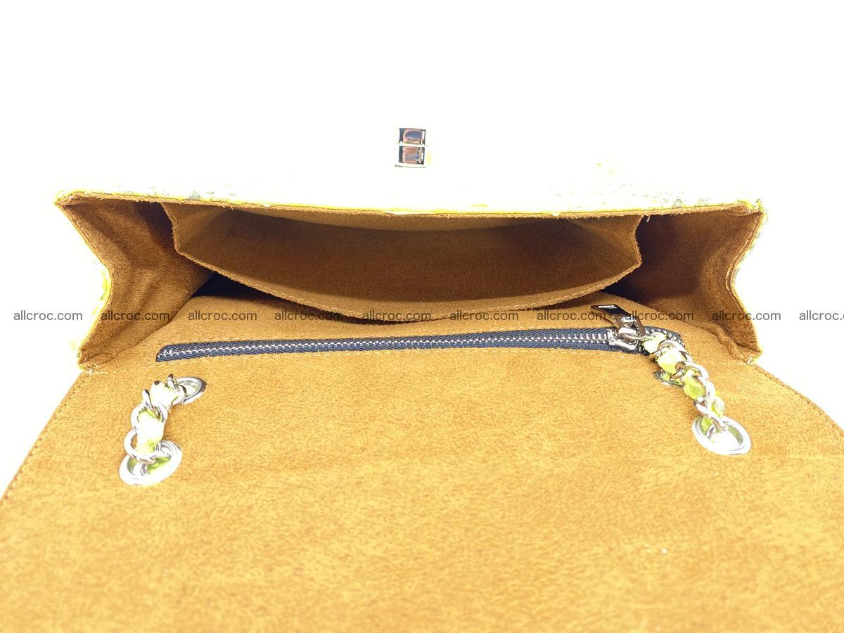 Python snakeskin shoulder bag 1074 Foto 14