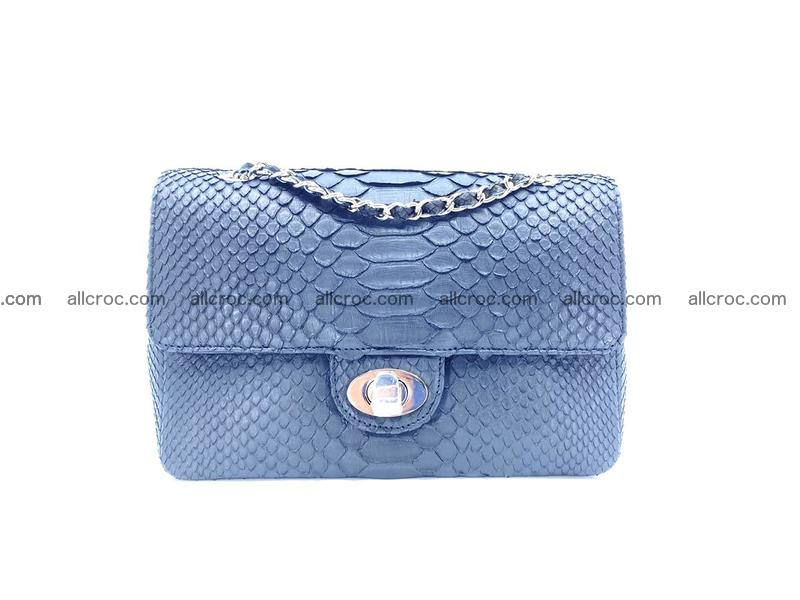 Python snakeskin shoulder bag 1064