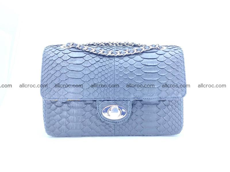 Python snakeskin shoulder bag 1062