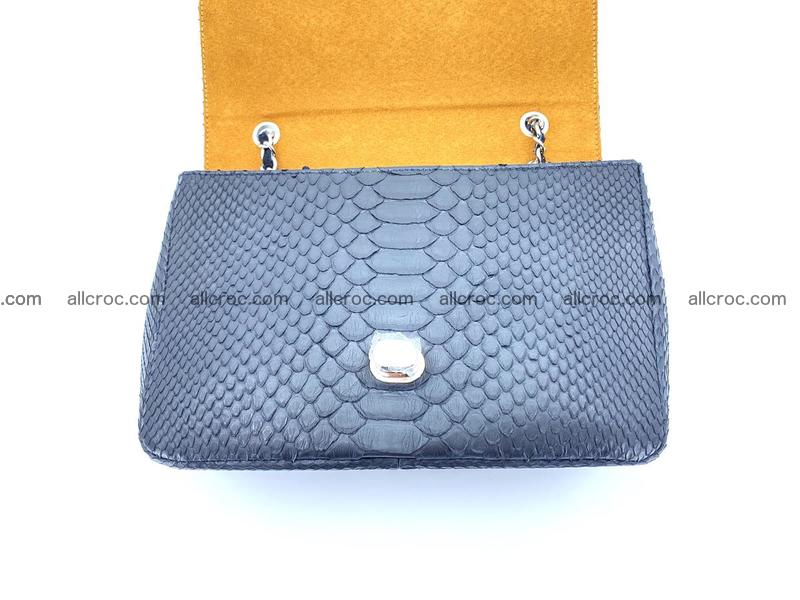 Python snakeskin shoulder bag 1063