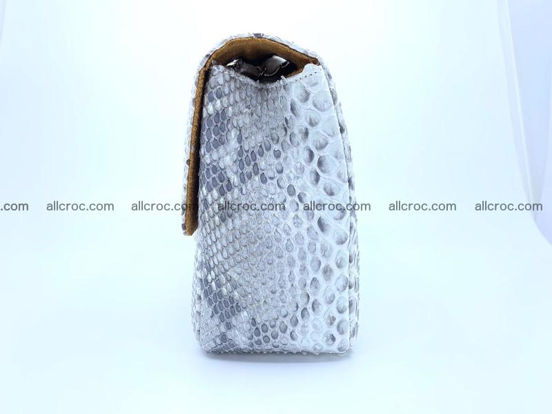Python snakeskin shoulder bag 1058