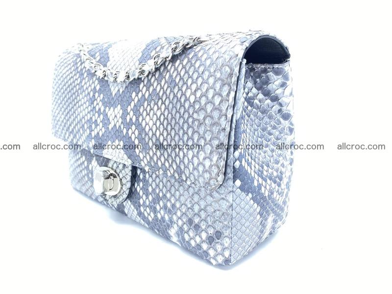 Python snakeskin shoulder bag 1059