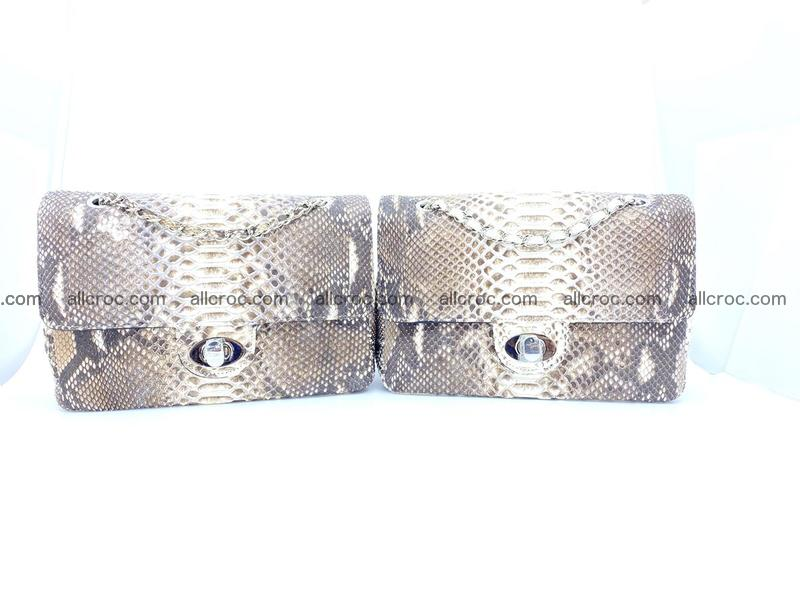 Python snakeskin shoulder bag 1057