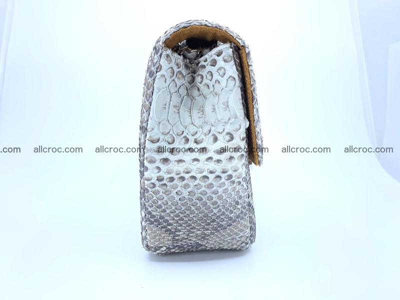 Python snakeskin shoulder bag 1061