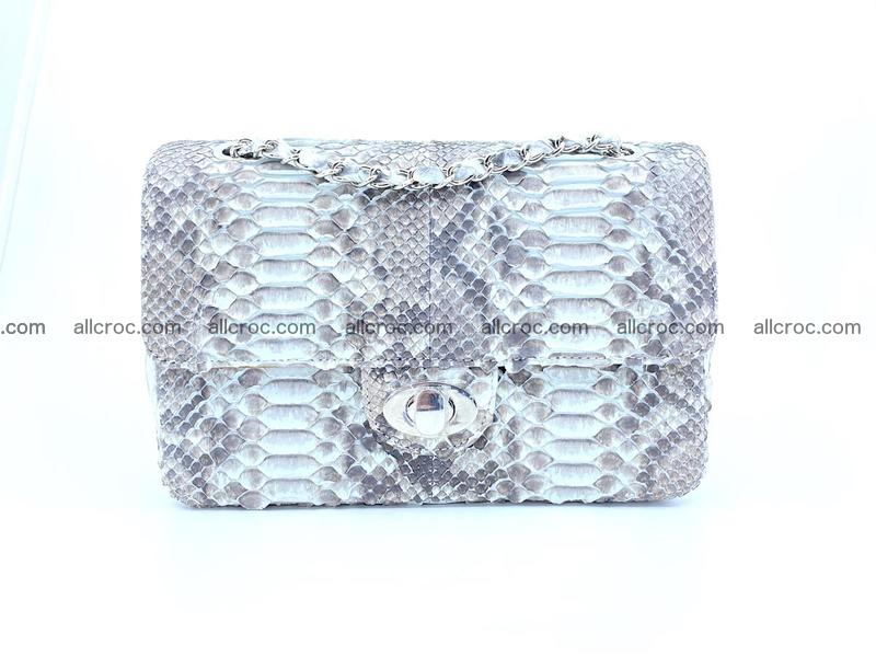 Python snakeskin shoulder bag 1060