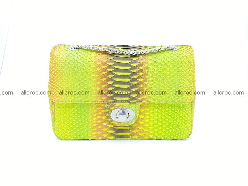 Python snakeskin shoulder bag 1071