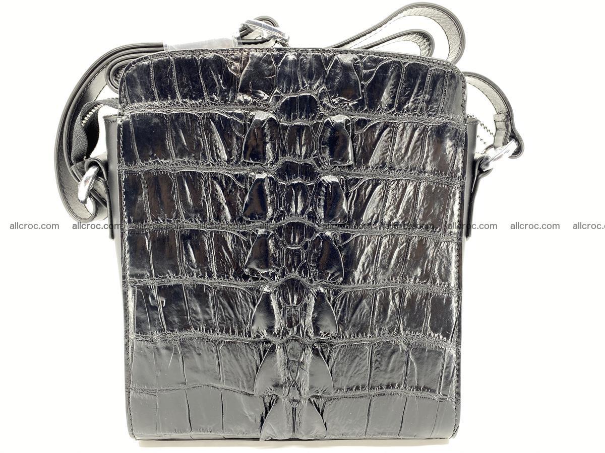 Siamese crocodile leather shoulder bag 899 Foto 3