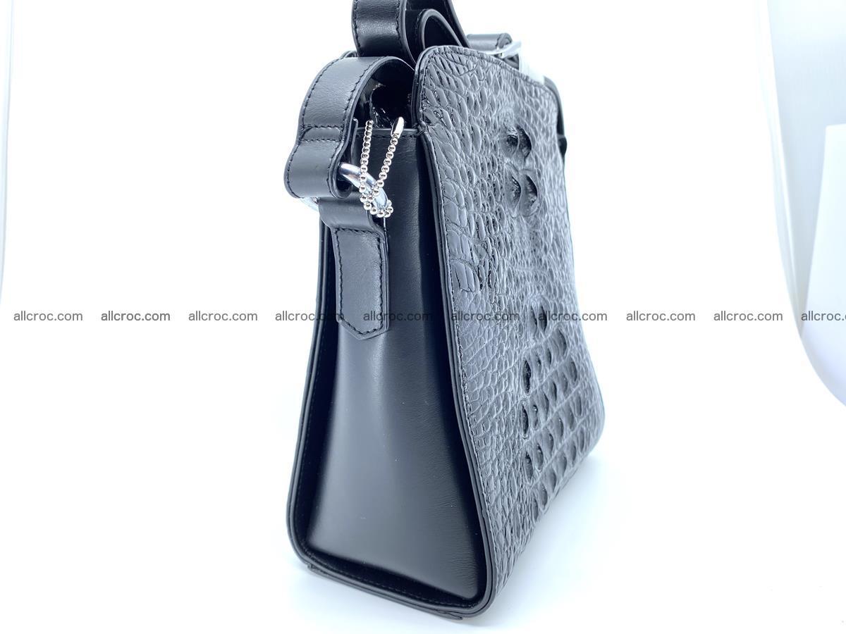 Siamese crocodile leather shoulder bag 899 Foto 4