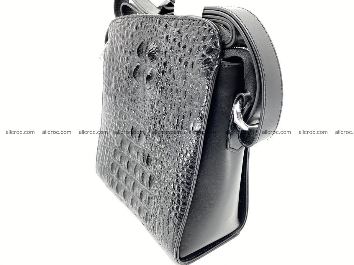Siamese crocodile leather shoulder bag 899 Foto 1