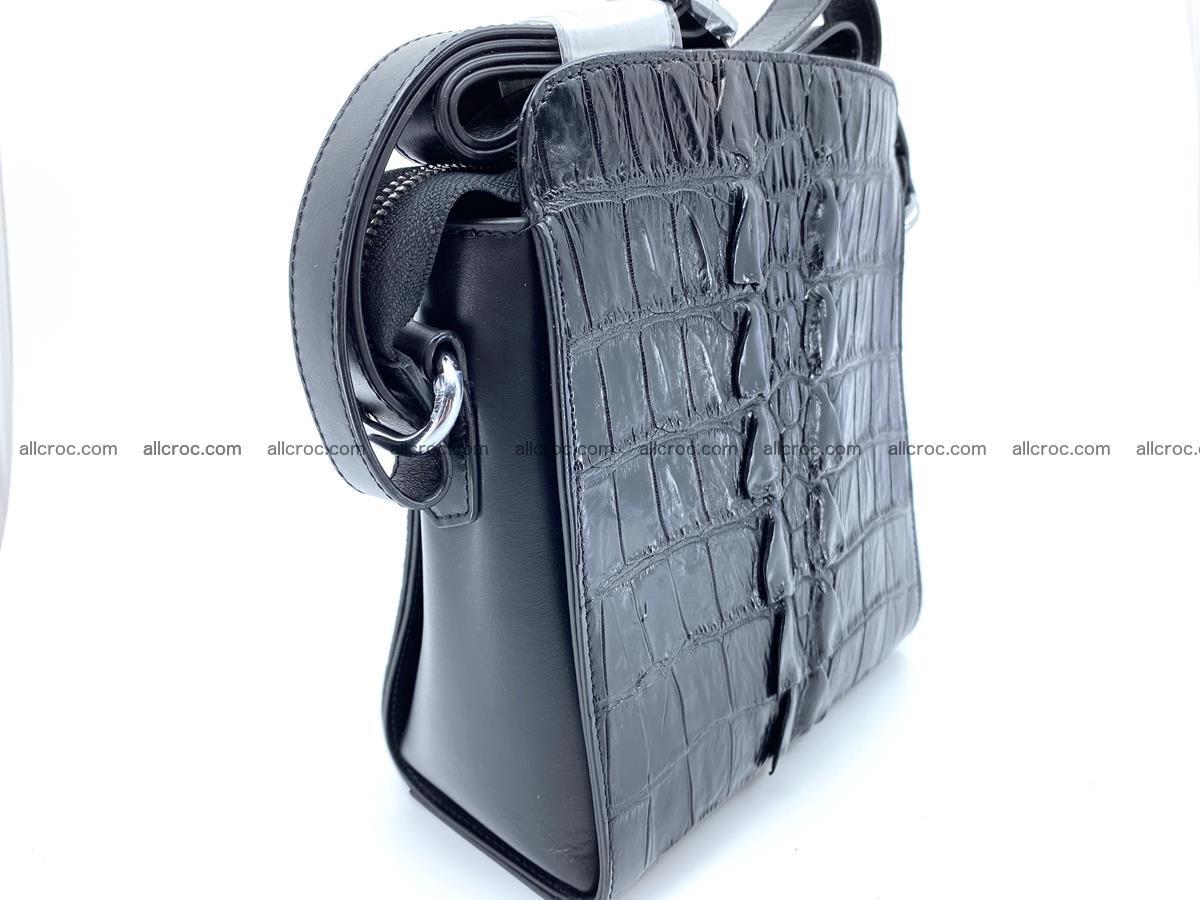 Siamese crocodile leather shoulder bag 899 Foto 5
