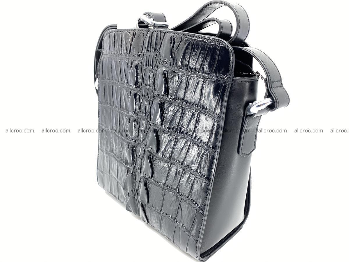 Siamese crocodile leather shoulder bag 899 Foto 2