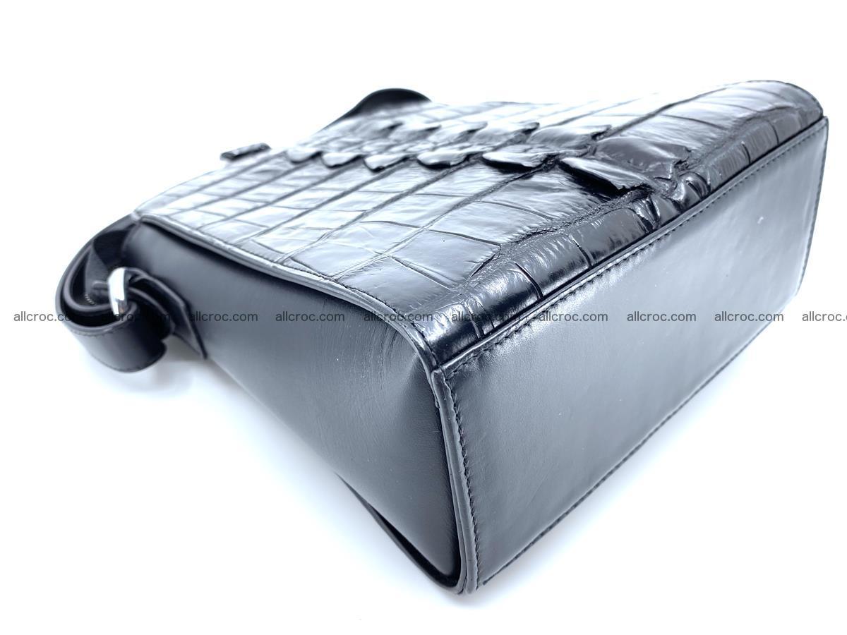 Siamese crocodile leather shoulder bag 899 Foto 7