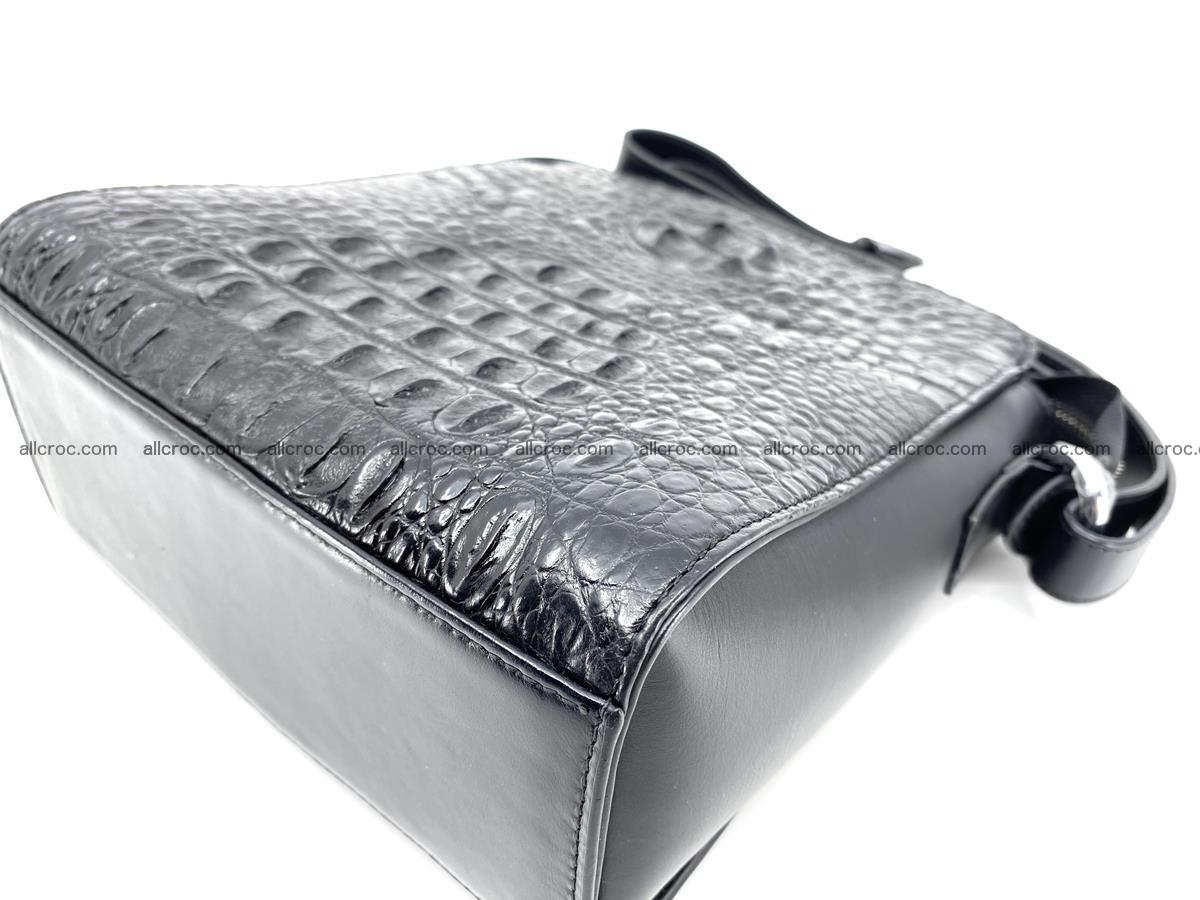 Siamese crocodile leather shoulder bag 899 Foto 8