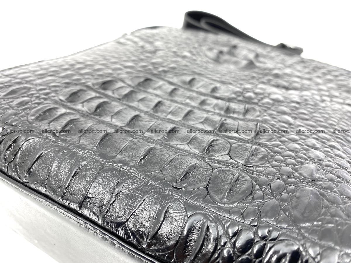 Siamese crocodile leather shoulder bag 899 Foto 6