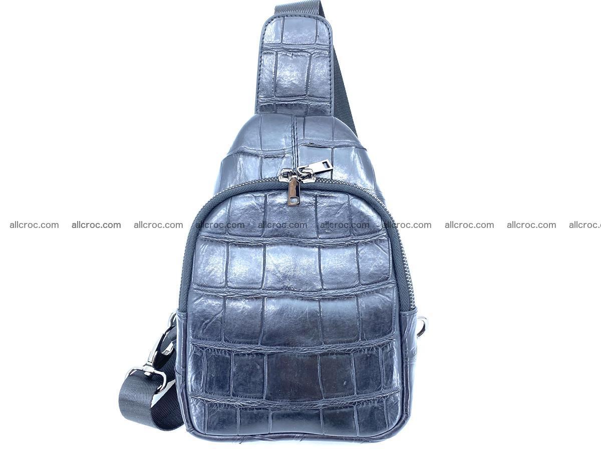 Sling bag from crocodile skin 886 Foto 0