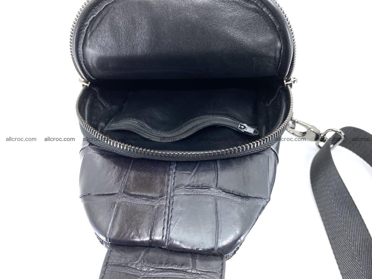 Sling bag from crocodile skin 886 Foto 2