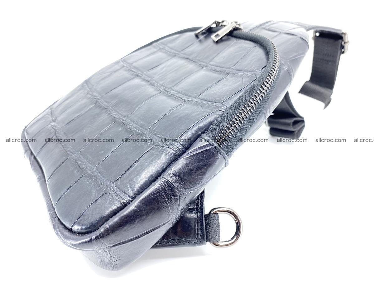 Sling bag from crocodile skin 886 Foto 4