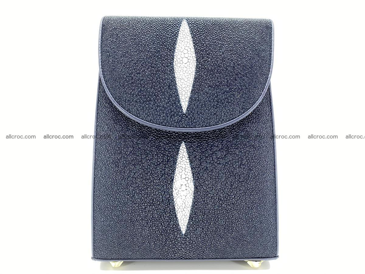 Stingray skin backpack 896 Foto 12
