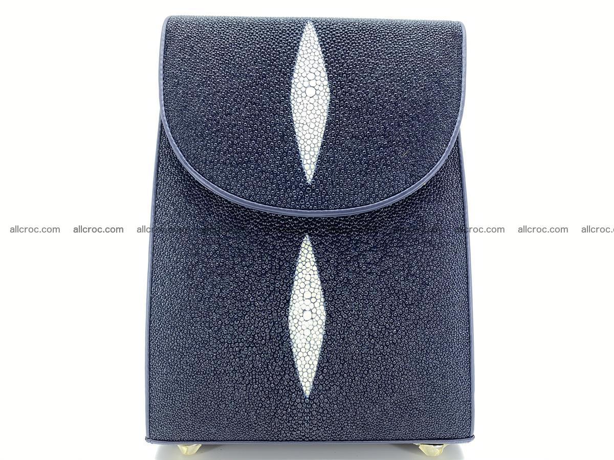 Stingray skin backpack 896 Foto 0