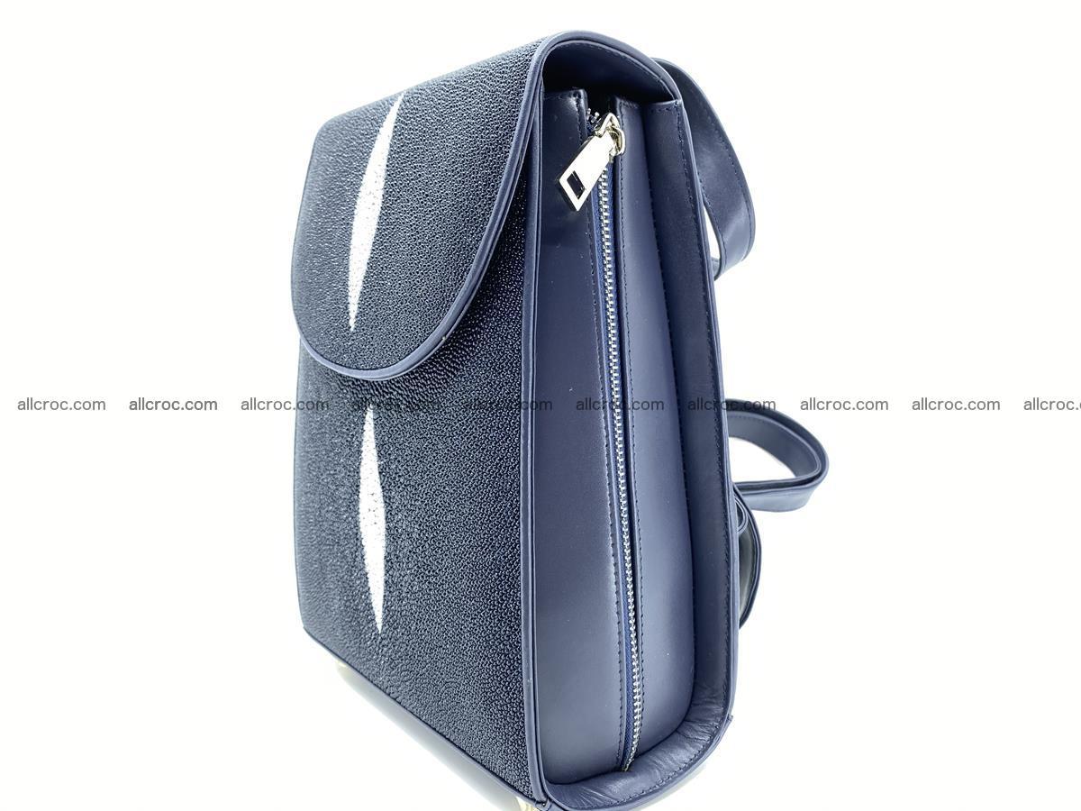 Stingray skin backpack 896 Foto 1